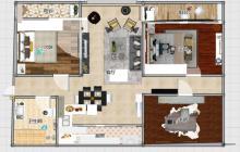 山南优质好房:紧邻邹平一中,圣豪购物;世纪花园,143平方三室两厅;带车库还带储藏室;报价141万